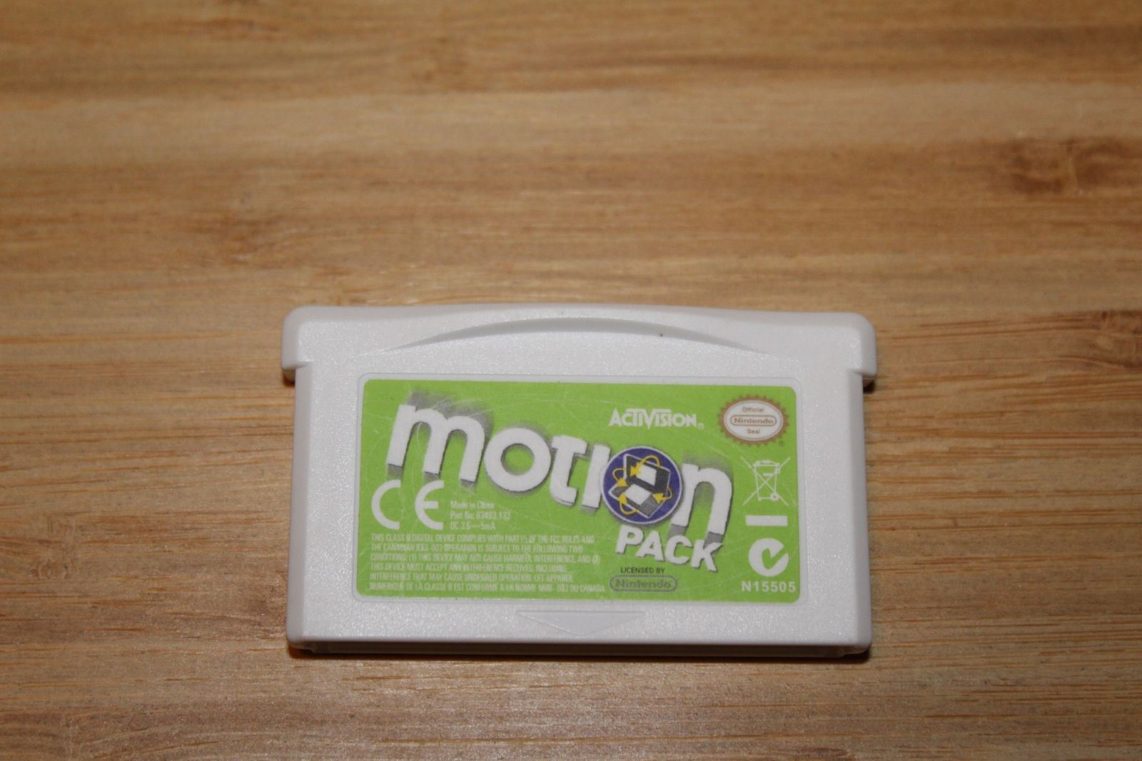 NDS: MOTION PACK (GAME)